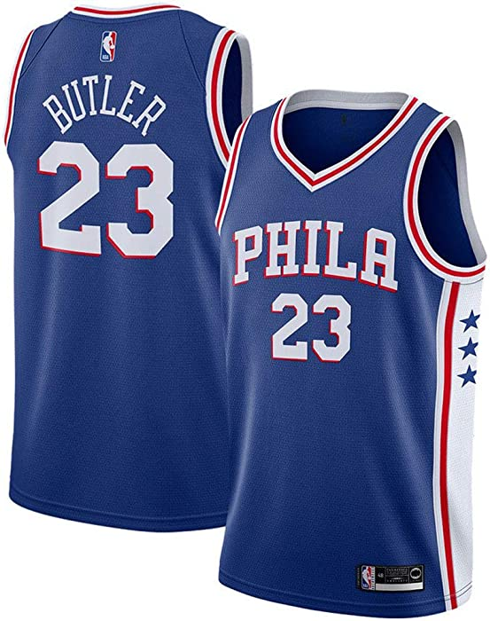 best cheap bb581 8247f Jimmy Butler Philadelphia 76ers Swingman Player #23 Jersey Icon Edition  Royal