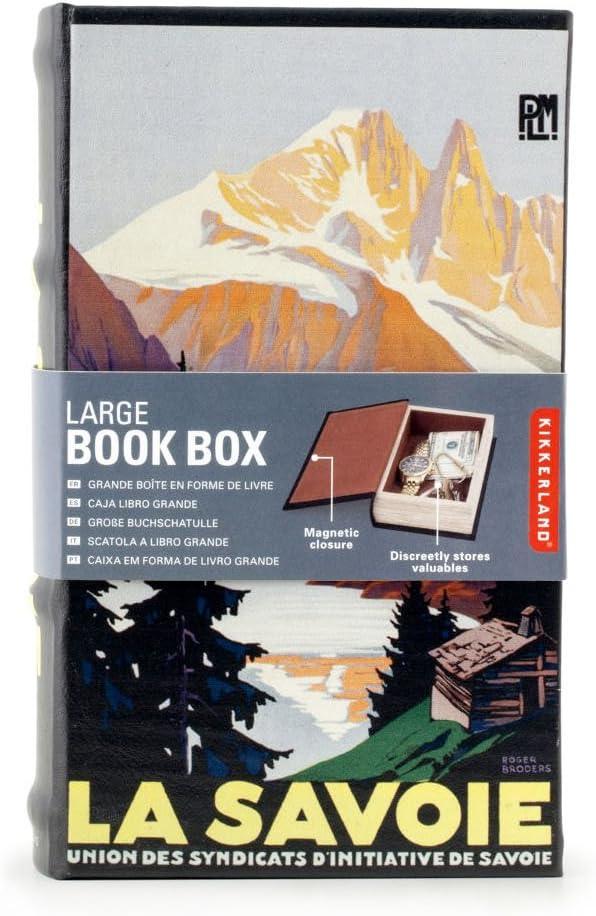 Kikkerland OR83 La Savoie - Caja para Libros, tamaño Grande: Amazon.es: Hogar