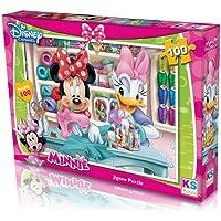 Minnie Mouse Puzzle - Yapboz 100 Parça