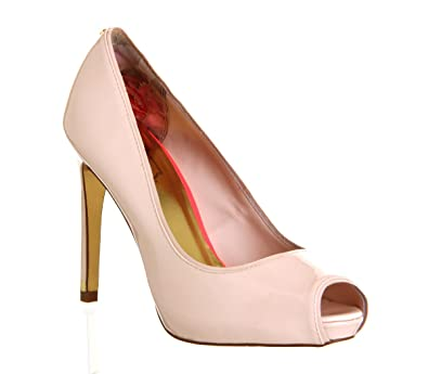 ce6d7887ed Ted Baker Glister High Heel Nude Patent - 5 UK: Amazon.co.uk: Shoes ...