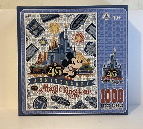 Disney Parks Walt Disney World Magic Kingdom 45th Anniversary Puzzle (Disneyland Park And Disney California Adventure Park)