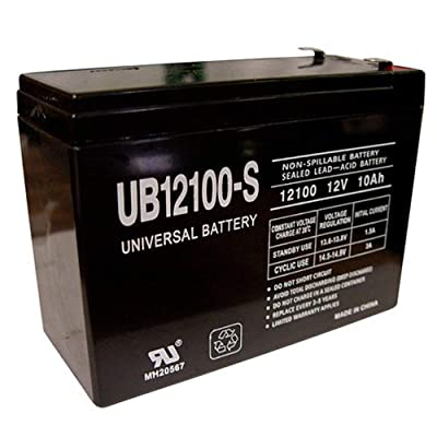 Universal Power Group 12V 10AH Replaces Mongoose M350 Scooter Battery MK Battery ES10-12S: Electronics