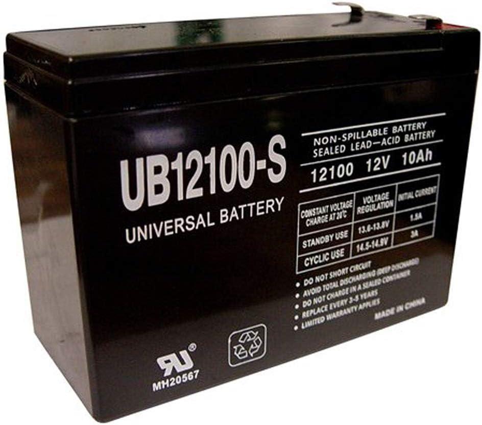 Universal Power Group 12 Volt 10 Ah Rechargeable Battery