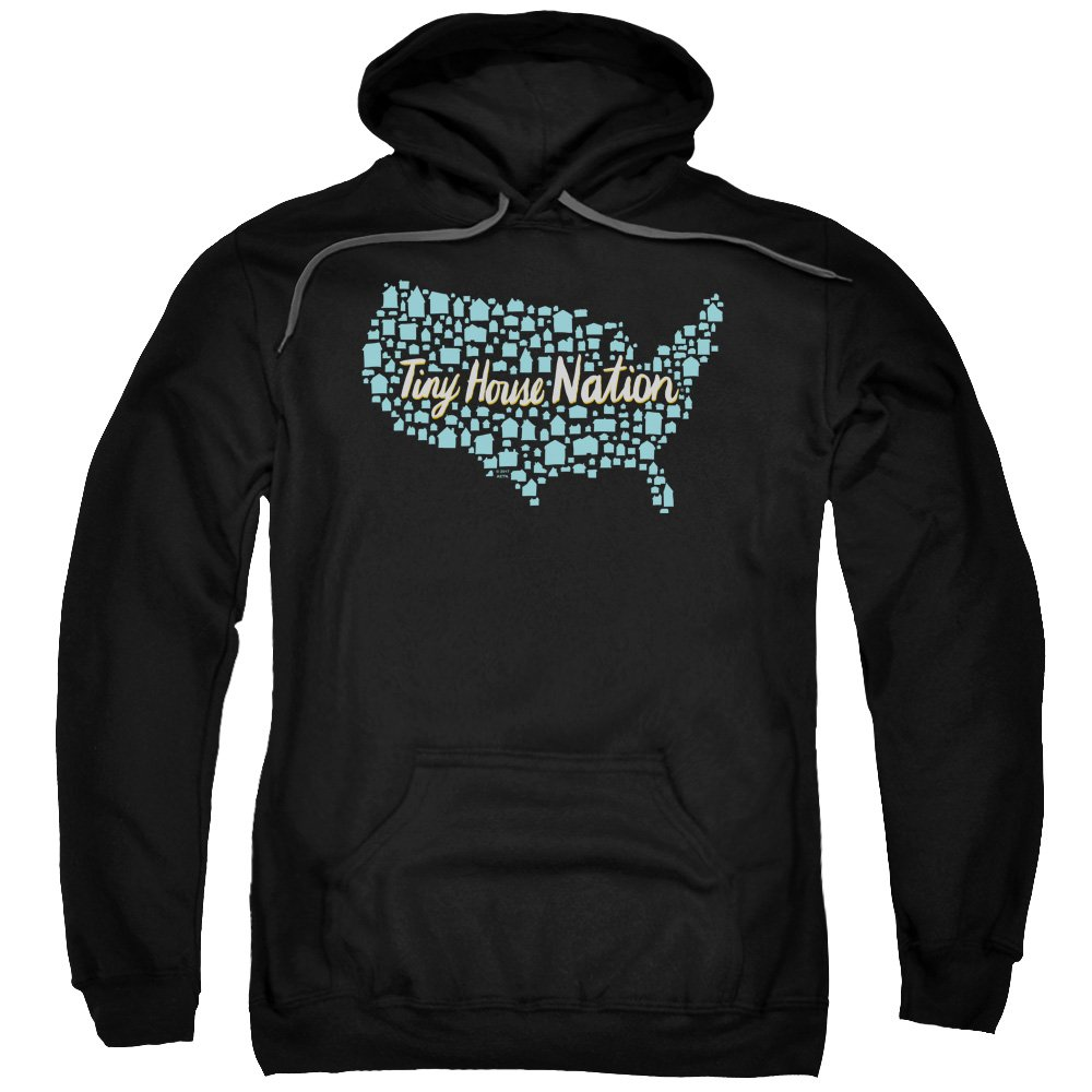 Tiny House Nation - - Die Nation der Häuser der Männer Hoodie