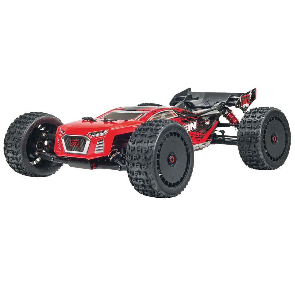 ARRMA Talion Blx Brushless 4WD Rtr Electric Radio Control RC Truggy (Lipo Batteries Required), Red and Black, 1:8 Scale