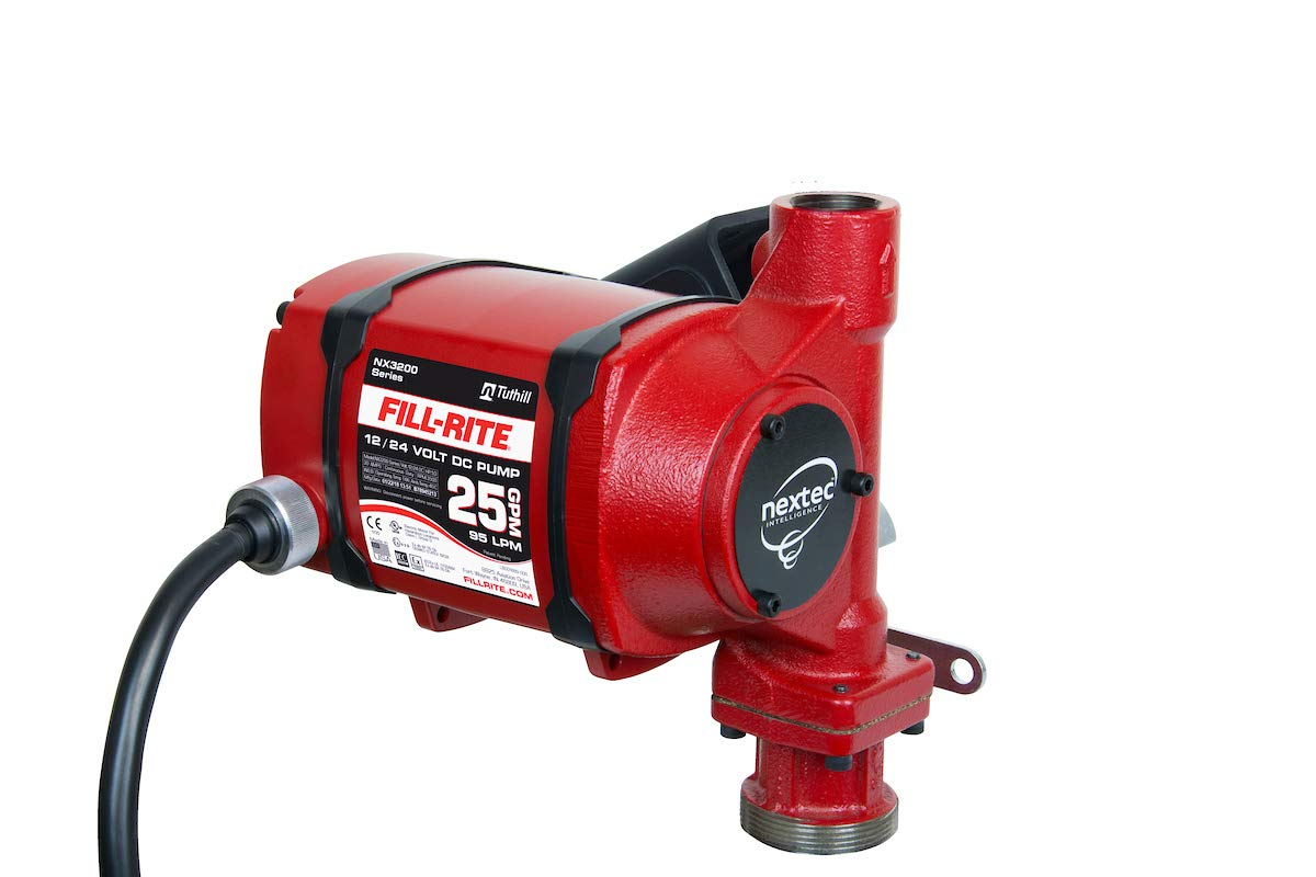 4-Wheel Mechanical Meter,1 FNPT,6-40 gpm FILL-RITE 901CMK4200