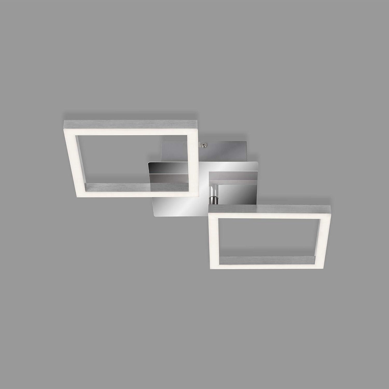 Hochwertige LED Chrom Wand Leuchte flexo Beleuchtung Strahler Lampe weiss Briloner 2057-018