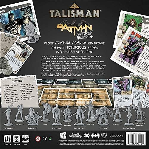 Talisman Batman Supervillians Edition Amazon Co Uk Toys Games