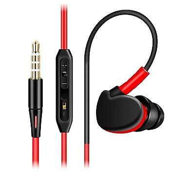 Auriculares estéreo Originales para Correr y Hacer Deporte con micrófono para Xiaomi