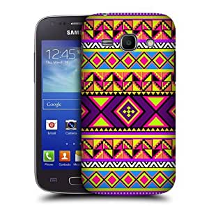 DIY Case Designs Preppy Neon Aztec Protective Snap-on Hard Back Case Cover for Samsung Galaxy Ace 3 S7270 S7272 by ruishername