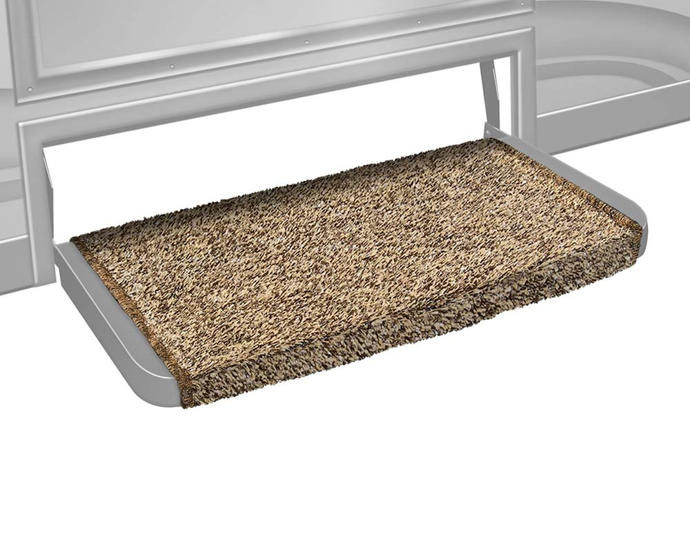 Prest-O-Fit 2-0079 Wraparound + Plus RV Step Rug Harvest Gold 20 In. Wide