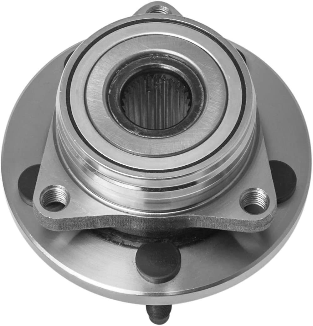 AdecoAutoParts/© Two 513100 Front Wheel bearing Hub Assembly for Ford Taurus 1996-2007 Lincoln Continental 1995-2002 Mercury Sable 2005-1996