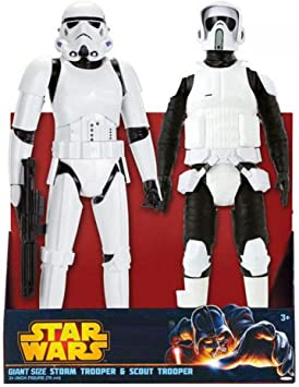 Pack figuras Star Wars Stormtrooper Scout 50cm: Amazon.es ...