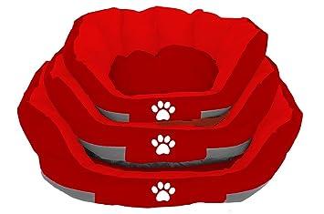 BPS® Cama Colchoneta Cuna para Perros Mascotas Cama de Verano Colchón Manta Sofá Almohada Suave