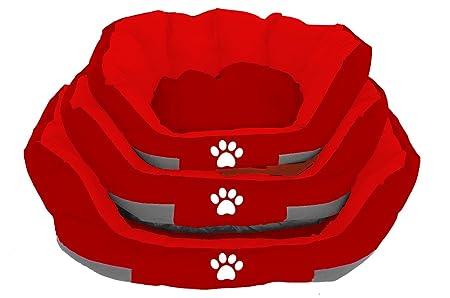 BPS Cama Colchoneta Cuna para Perros Mascotas de Verano Cama Colchón Manta Sofá Almohada Suave con Material Tela Oxford Varios Colores y 3 Medidas para ...