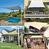 diig Patio Sun Shade Sail Canopy, 8' x
