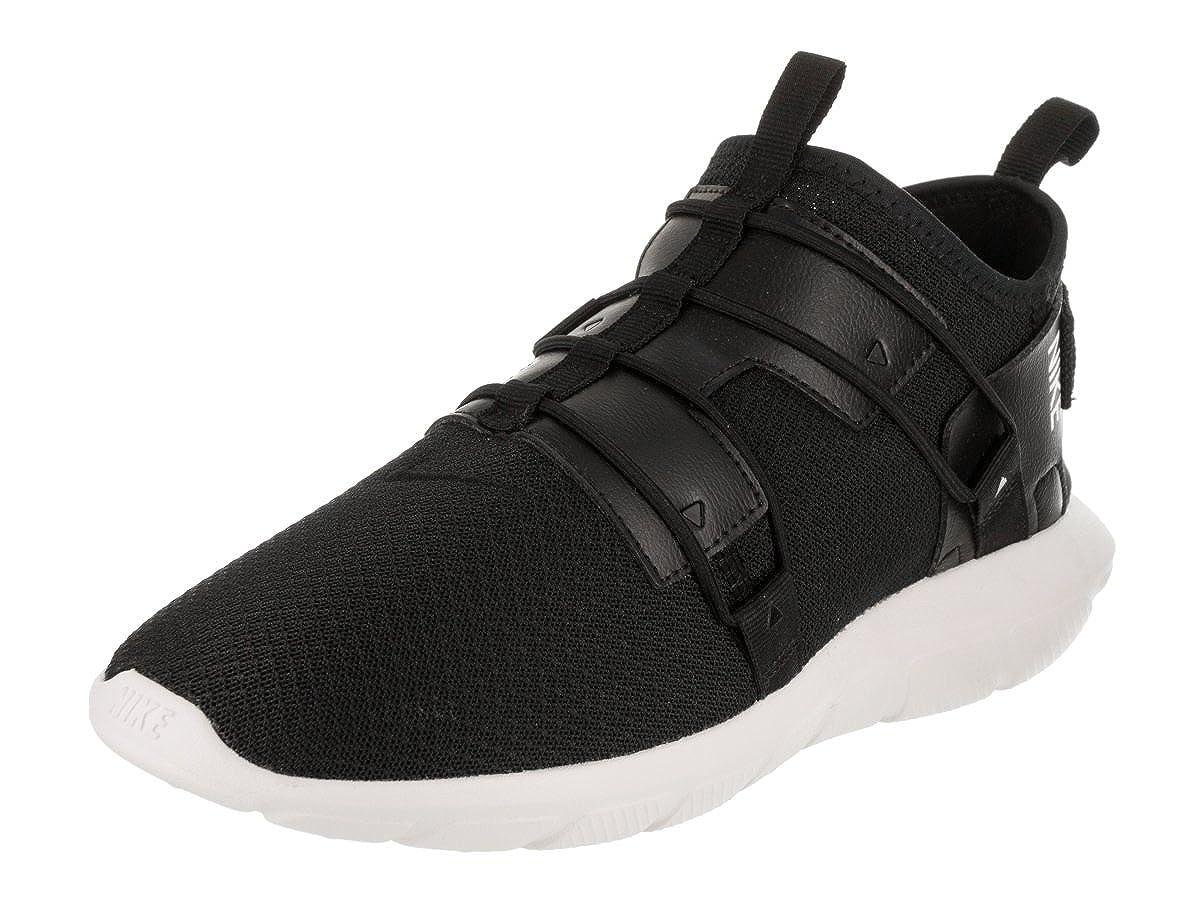 Nike Rosherun - Hausschuhe de Running de Material sintético Niños^Niñas schwarz schwarz Weiß