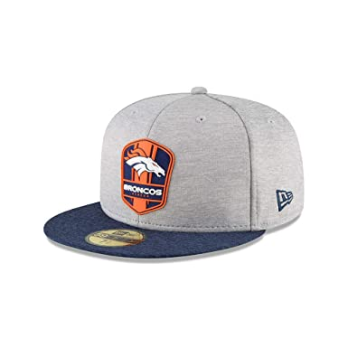 994956492ba New Era Denver Broncos NFL Sideline 18 Road On Field Cap 59fifty Fitted OTC