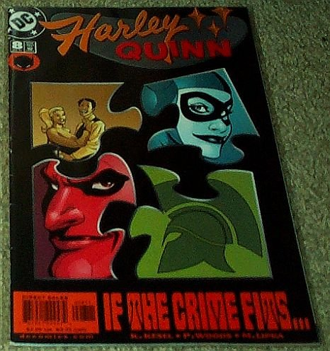 Hawkgirl Mask (Harley Quinn (DC Comic #8) July 2001)