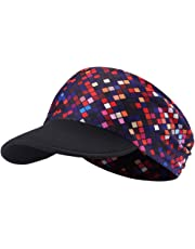 hikevalley Yoga Headband - Unique Design Women Headwrap UV Sun Protective Soft Visor Brim Running/Hiking/Golf/Outdoor Sports