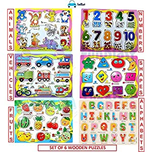 FunBlast Set of 6 Puzzle...