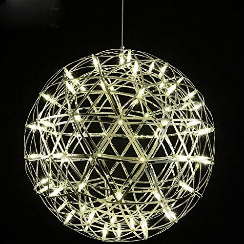 FidgetGear 6W/10W/15W LED Firework Pendant Light Ball-Shape Ceiling Lamp Fixture Canteen 15W(45cm/18) by FidgetGear (Image #6)
