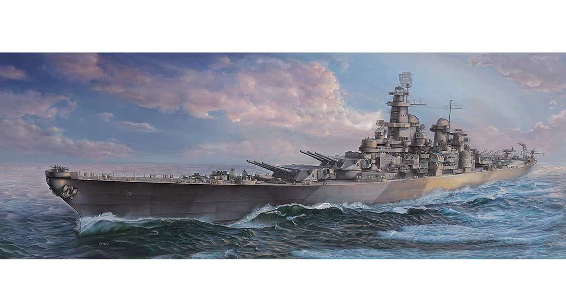 1/350 Blue Ridge Models USS Iowa BB-61 WWII Version Plastic Model Kit