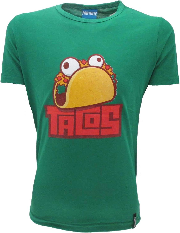 T-Shirt Originale Fortnite Epic Games ufficiale scritta bianca bimbo ragazzo