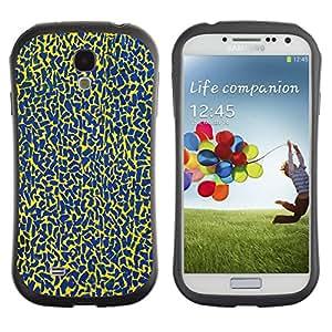 Suave TPU GEL Carcasa Funda Silicona Blando Estuche Caso de protección (para) Samsung Galaxy S4 I9500 / CECELL Phone case / / Blue Spots Pattern Abstract Colors /