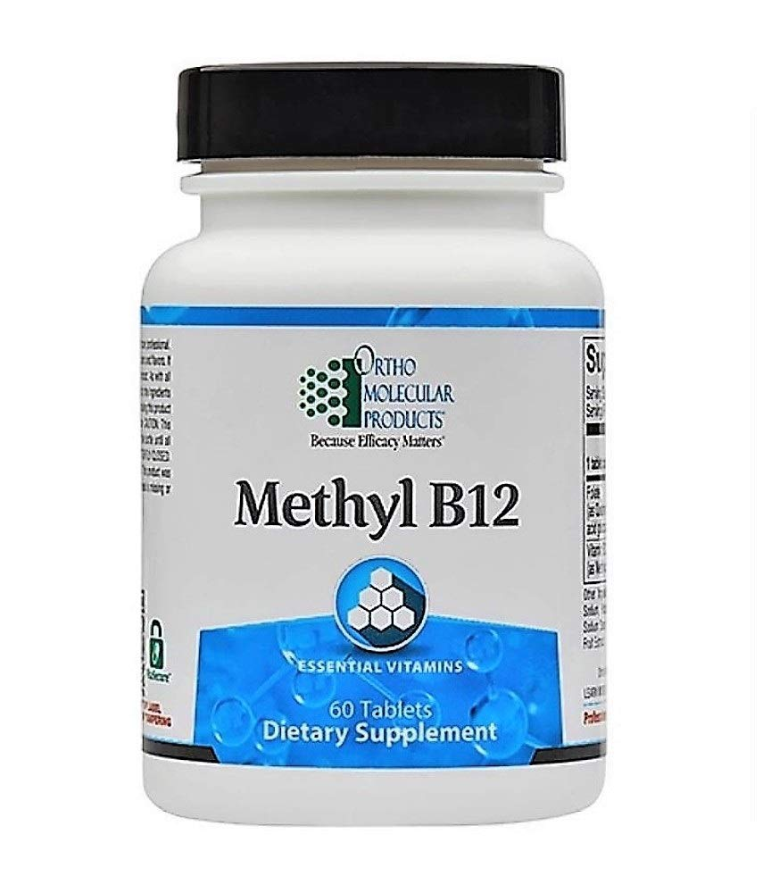 Ortho Molecular – Methyl B12 – 60 Tablets