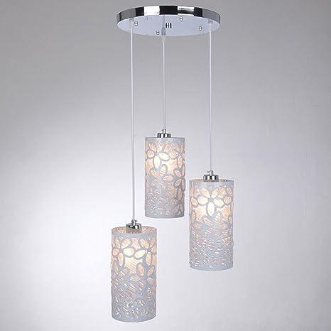 Color Blanco Diseño Moderno Lámpara de techo lámpara de ...