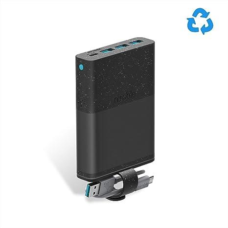 Amazon.com: Nimble Cargador portátil, 18 W PD carga rápida ...