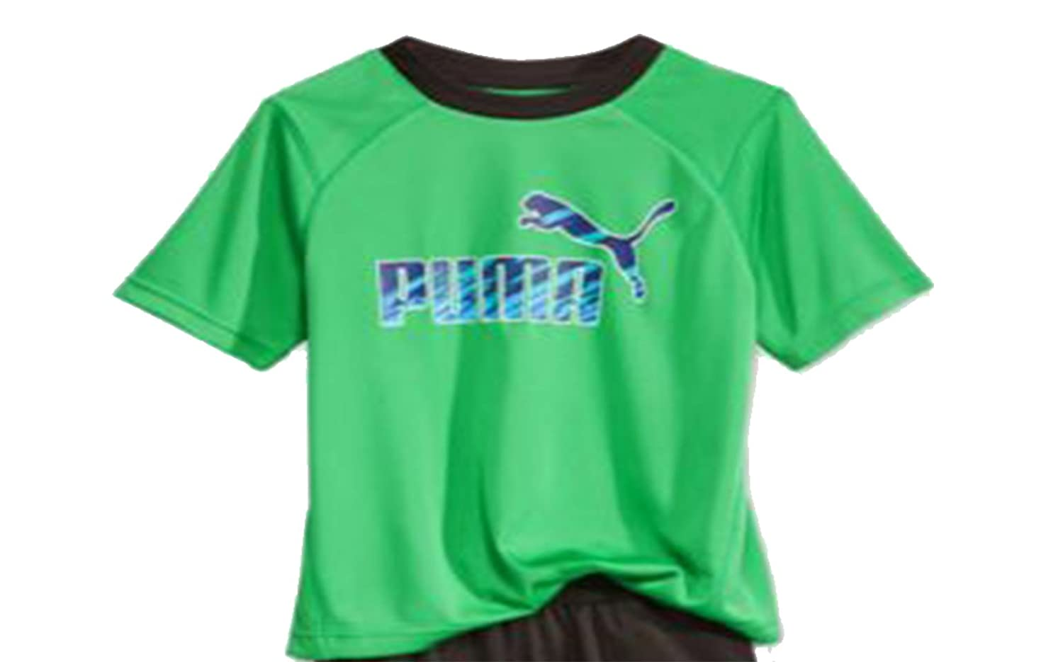 dbbff2553b09 Amazon.com  Puma Little Boys T-Shirt Short Sleeve Active Green Size 4   Clothing