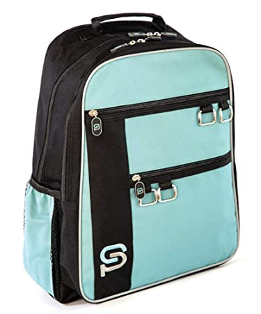 603eef3d23fc Sydney Paige Raleigh 18-Inch Water Resistant Laptop Backpack Fits 15-inch  Laptops (Turquoise)