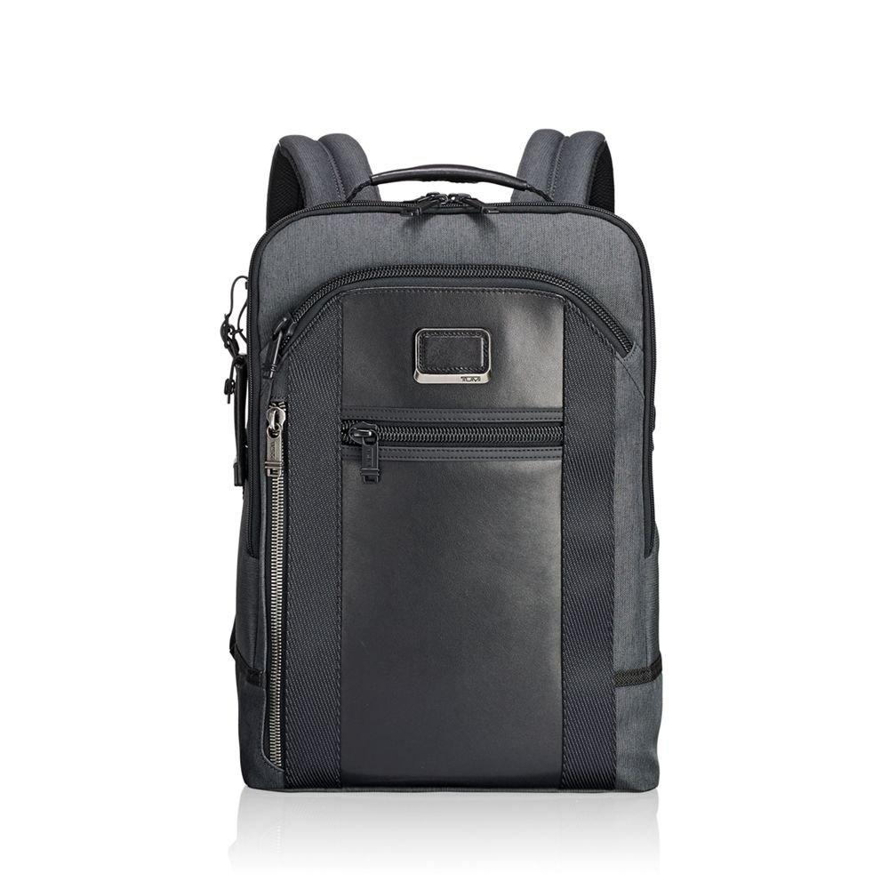 Amazon.com | Tumi Men's Alpha Bravo Davis Backpack, Anthracite | Casual  Daypacks