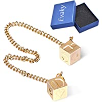 Evaky Han Solo Star Wars Lucky Charm Dice Prop-Dice with Link Chain Star Wars Sabacc Gold Millennium Falcon