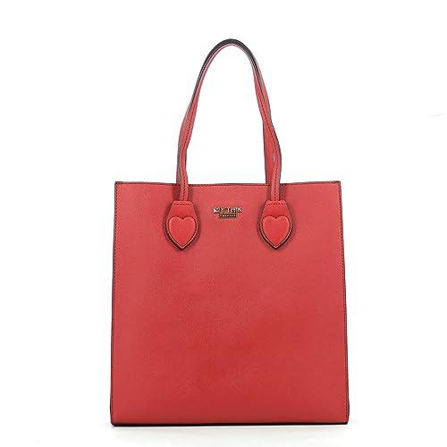 shopper verticale TWINSET codice va7ph7 rosso  Amazon.it  Scarpe e borse 0e3eeb8af76