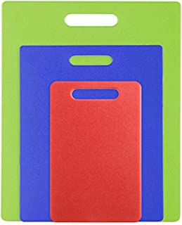 product image for Dexas Jelli Cutting Board, Set of Three, Red, Blue, Green