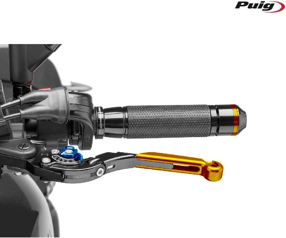 Black Puig 29ONA 2.0 Extendable Folding Clutch Lever with Blue Selector