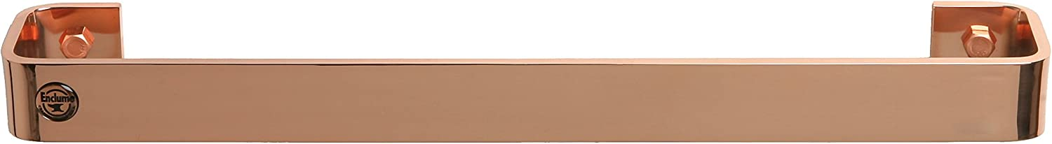 Enclume Premier 18-Inch High material unisex Utensil Bar Pot Wall Rack Plated Copper