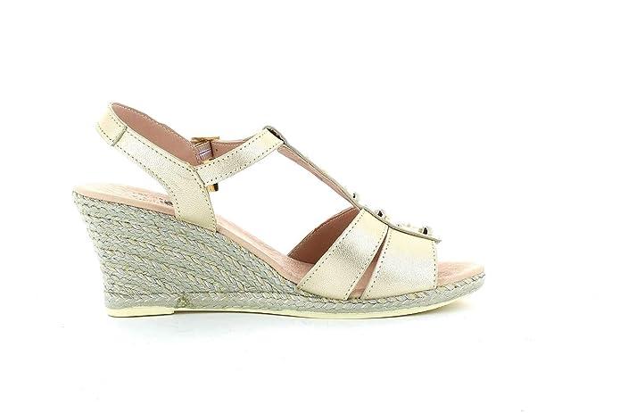 Amazon Complementos Cuña Y Sandalia Pilar es Metal Zapatos qA7Swtzgw
