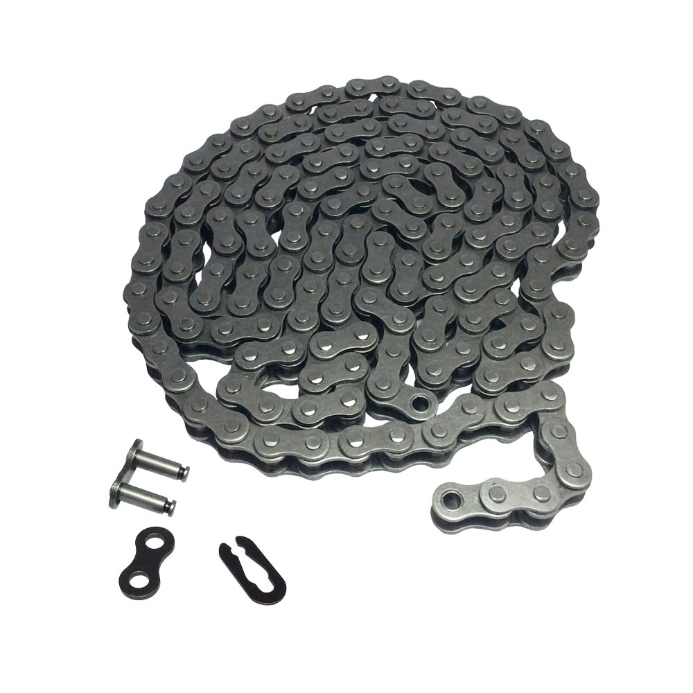 # 35 Roller Chain 10 Feet with 1 Connecting Link for Go Kart Mini Bike Replacements
