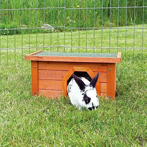 Trixie 62396 natura Kleintierhaus, 50 × 30 × 37 cm, rot/weiß