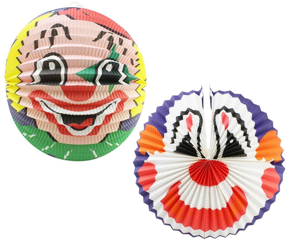 004 pi/èces - Moon V2 com-four/® Lanternes pour Enfants en Papier 4 sous Forme de soleils Lanterne pour Enfants