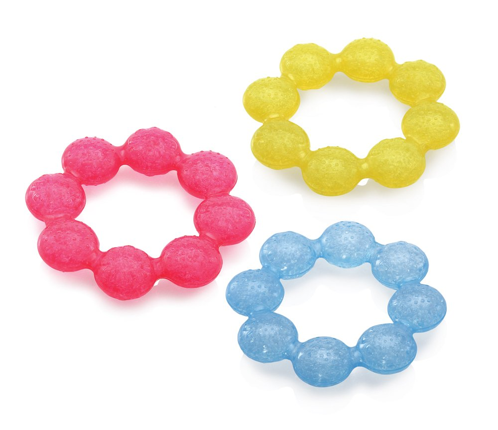 Nuby™ Fruity Chews™ soothing ring teether