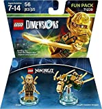 Ninjago Jay + Lloyd + Zane + Sensei Wu + Nya Fun Packs - Lego Dimensions (Non Machine Specific)
