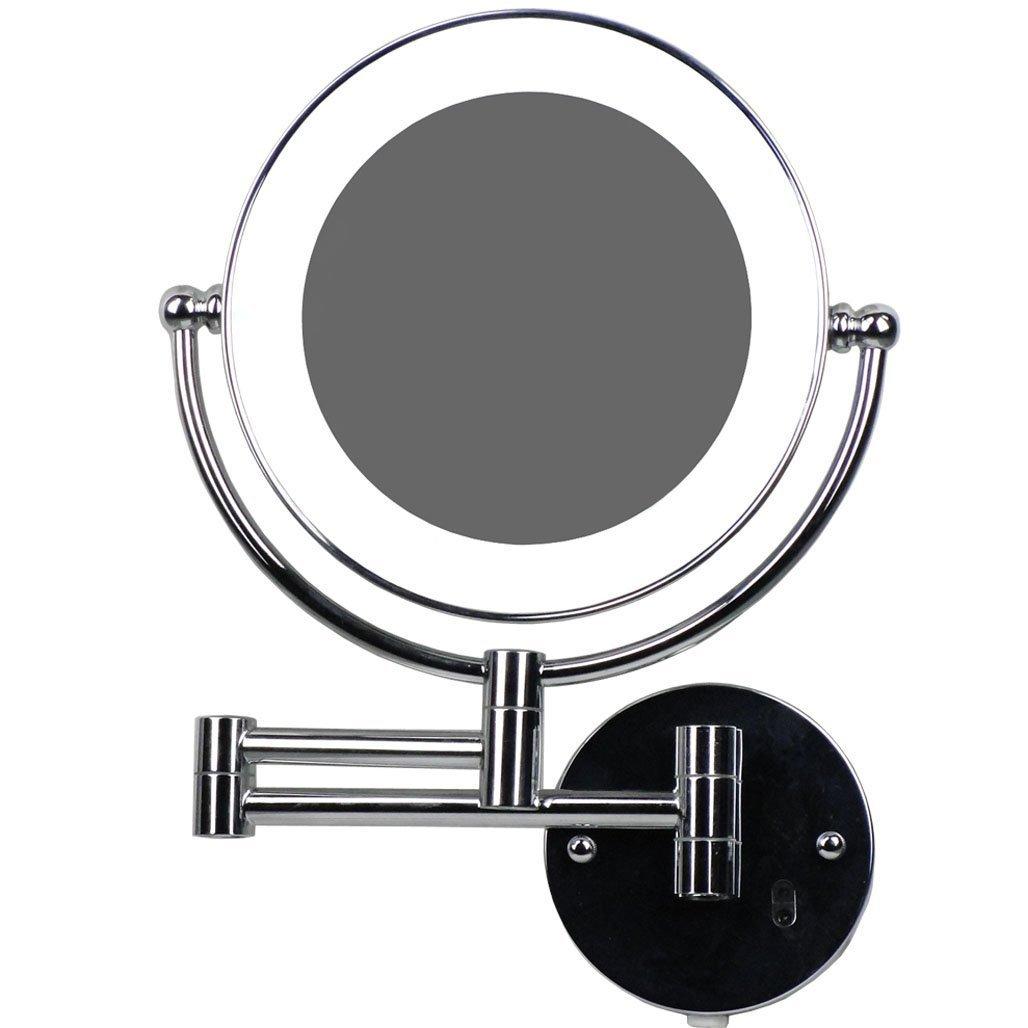 LED Beleuchtet wunderschöne Kosmetikspiegel 1+7Fach mit Infrarot-Sensor (3cm extra dick) hochwertig JL58-7