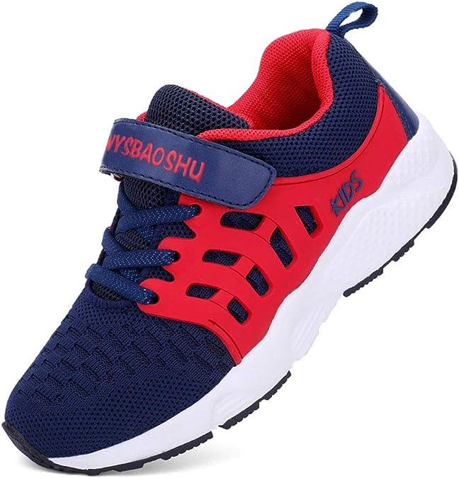 Unisex Zapatillas Deportivas para Niños Niña Running Zapatos de Deporte de Los Muchachos Antideslizante Zapatos de Correr 28-37: Amazon.es: Zapatos y complementos