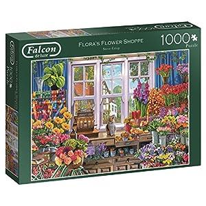 Falcon De Luxe 11196 Flora Flower Shoppe Puzzle Da 1000 Pezzi