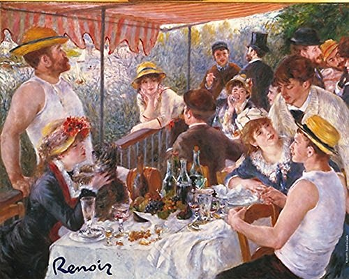 - EuroGraphics Lunch of The Boating Party by Pierre-Auguste Renoir Romantic Summer Art Print Poster 24x36